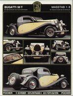 Page De Publicité POCHER 1990 Bugatti 50T Maßstab 1/8 - Panzer
