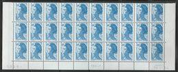 2320  3f. BLEU  - LIBERTE De GANDON - BAS De FEUILLE De 30- TD6-2 Du 20.11.84 - BLEU S/ FOND BLEUTE (défaut Essuyage) - 1982-90 Liberté (Gandon)