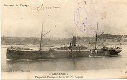 ARMENIE.....CIE N.PAQUET - Piroscafi