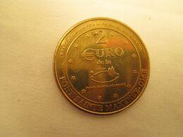 2 Euros Cercle Numismatique  De Pont Sainte  Maxence Etat Sup - France