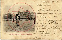 Koninklijke Familie - Leopold - Royal Family - Dynasty (Le Roi Leopold II Sur La Plage)..Oostende - Ostende (DOOS 4) - Oostende