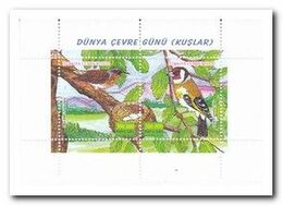 Turkije 2001, Postfris MNH, Birds - 1921-... República