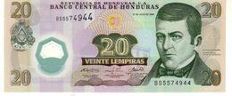 Honduras P.95  20 Lempiras 2008  Unc - Honduras