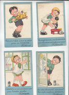 Illustrateur D'enfants / Lot De 8 CP / Béatrice Mallet / Pub Lion Noir, Astra, Miror... / Voir état - Mallet, B.