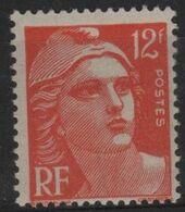 FR 1638 - FRANCE N° 885 Neuf* Marianne De Gandon - Unclassified