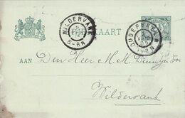 NETHERLANDS - BRIEFKAART 1905 OUDEPEKELA - WILDERVANK  /AS133 - Ganzsachen