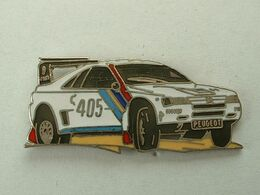 Pin's PEUGEOT 405 DAKAR N°1 - DEMONS & MERVEILLES - Peugeot