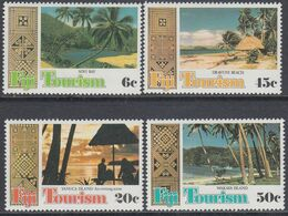 Fiji 1980 - Tourism: Beaches - Mi 424-427 ** MNH - Fidji (1970-...)
