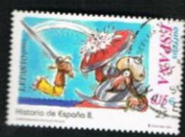 SPAGNA (SPAIN)  -  SG 3783  - 2001 SCHOOL CORRESPONDENCE: HISTORY (LEPANTO BATTLE, FROM BF)    - USED - 1931-Oggi: 2. Rep. - ... Juan Carlos I