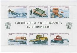 TAAF FSAT Bloc Feuillet Transport 2010 - Blocks & Sheetlets