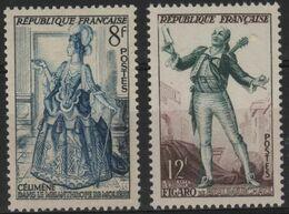 FR 1651 - FRANCE N° 956/57 Neuf** Théâtre Français - Francia