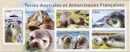 TAAF FSAT Bloc Feuillet Animaux Marins 2010 - Blocks & Sheetlets