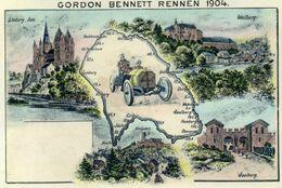 DC3104 - Gordon Bennett Rennen 1904 Smaller Card - Autres