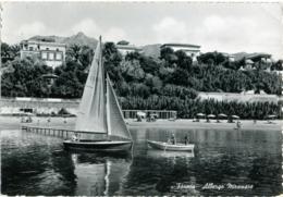 FORMIA  LATINA  Albergo Miramare  Barca A Vela - Latina