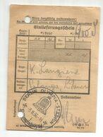 ALEMANIA REICH 1936  MAT JUEGOS OLIMPICOS DE BERLIN OLYMPIC GAMES SOBRE RESGUARDO ENVIO CERTIFICADO - Summer 1936: Berlin