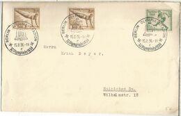 ALEMANIA REICH 1936 MAT JUEGOS OLIMPICOS DE BERLIN OLYMPIC GAMES MAT OLYMPIA STADIUM - Summer 1936: Berlin