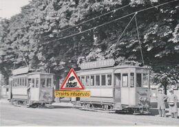 211T - Trams Anciens De Saint-Etienne (42) Au Terminus De La Rivière - - Tramways