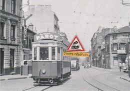 212T - Tram Ancien De Saint-Etienne (42), Rue Charcot - - Tramways