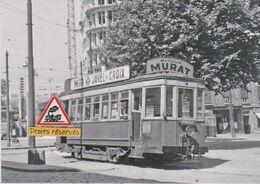 213T - Tram Ancien De Saint-Etienne (42), Au Terminus De Bellevue - - Tramways