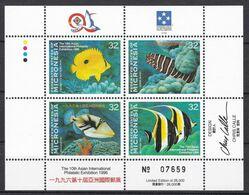 Mikronesien 1996 - Mi.Nr. 522 - 525 KB - Postfrisch MNH - Tiere Animals Fische Fishes - Fishes
