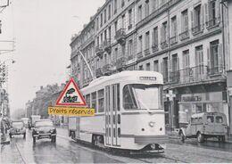 """214T - Tramway Ancien PCC De Saint-Etienne (42), à """"gare De Bellevue"""" - - Tramways"""