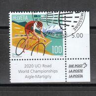 Schweiz   Gestempelt   UCI Road 3.9.2020 - Gebraucht