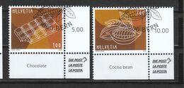 Schweiz   Gestempelt Schokolade 3.9.2020 - Gebraucht