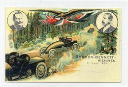 DC3612 - Gordon Bennett Rennen 1904 Smaller Card - Autres