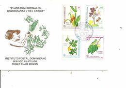 Dominicaine - Plantes Médicinales ( FDC De 1986 à Voir) - República Dominicana