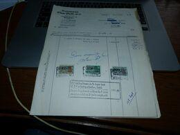 FF6 Facture Document Commercial Meubelfabriek Van Pelt Burcht 1953 - 1950 - ...
