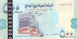 YEMEN ARAB P. 31 500 R 2001 UNC - Yemen