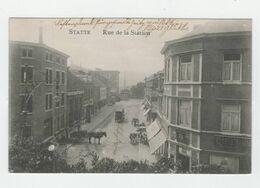 HUY Statte Rue De La Station 1917 Feldpost - Huy