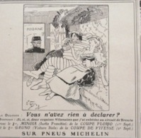 1907 PUBLICITÉ PNEUS MICHELIN Par O'GALOP - BIBENDUM - MODANE - Non Classificati