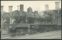 Locomotives De L'Est  (Ex-A.-L.) - Machine N° 2318 Type 230 - H.M.P. N° 124 - Voir 2 Scans - Treni