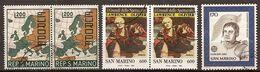 (Fb).San Marino.Lotto 3 Val Usati,due In Coppia E Uno Singolo (176-20) - Gebraucht