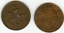 France 5 Centimes 1916 Etoile * GAD 165 KM 842 - C. 5 Centimes