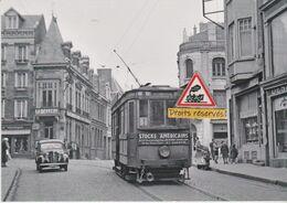 218T - Tram De La Ligne 1 Dans Le Centre De Saint-Quentin (02) - - Tramways