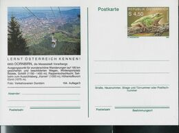 Carte Illustrée Neuve N° 506. - 194/3  --  6850 DORNBIRN (Téléphérique)  ( Batracien) - Entiers Postaux
