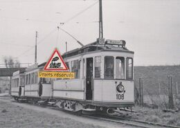 221T - Tram Ancien De Strasbourg (67) Au Terminus De Roettig - - Strasbourg