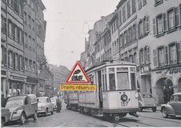 223T - Tram Ancien De Strasbourg (67), Rue Des Grandes Arcades - - Tramways