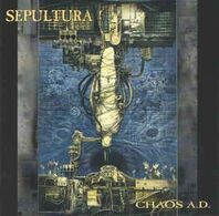 Sepulture- CHAOS AD - Hard Rock & Metal