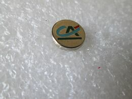 PIN'S   CREDIT  AGRICOLE  10mm - Banks