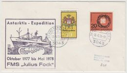 1978  ENVELOPPE Avec CACHET ANTARKTIS EXPEDITION JULIUS FOCK - Antarktis-Expeditionen