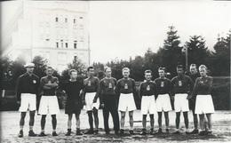 Photography FO000450 - Football Soccer Calcio Fascism Nazism WW2 NDH Croatia Austria Stockerau 17x10.5cm DAMAGED - Sports