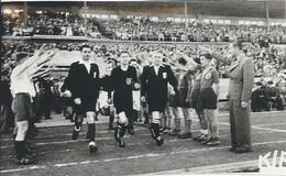 Photography FO000452 - Football Soccer Calcio Fascism Nazism WW2 NDH Croatia 17x10cm - Sports