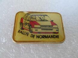 PIN'S    PEUGEOT  309 GTI  RALLYE  DE NORMANDIE - Peugeot