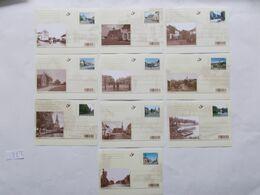 BELGIQUE - N°   N° BK 160/69  Les 10 Cartes  De La Serie Année 2007 ( Voir Photo )  89 - Postwaardestukken
