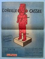 Hergé, Tintin - Publicité La Patrie Du Dimanche - Werbeobjekte