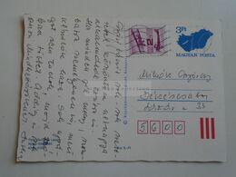 ZA320.7  Hungary Postal Stationery -Entier -Ganzsache - 3 Ft Nr.NyN.-- 1586/892 - Interi Postali