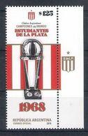 Argentina (2019) Calcio/football: Estudiantes La Plata Winner Intercontinental Cup 1968 - Single Stamp (MNH) As Scan - Otros